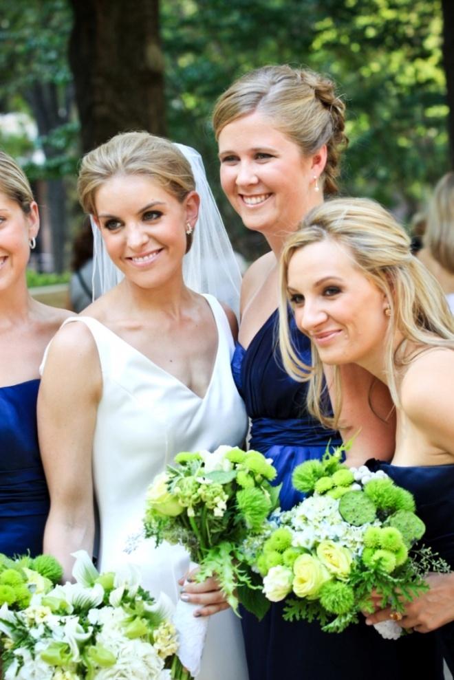 Azul y Verde, colores que casan / Blue and Green, marriage colours