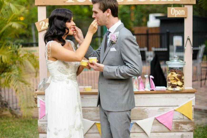 ¡Helados en mi boda!