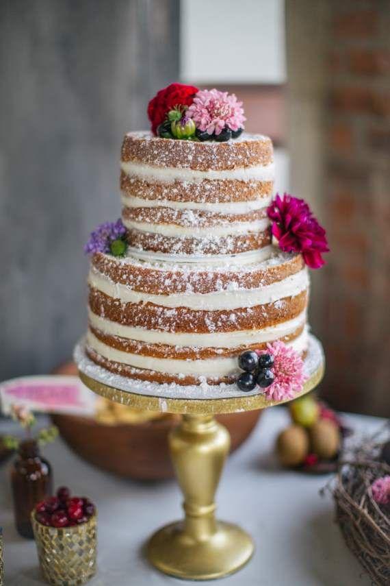 Naked Wedding Cake: Tendencia 2014/2015