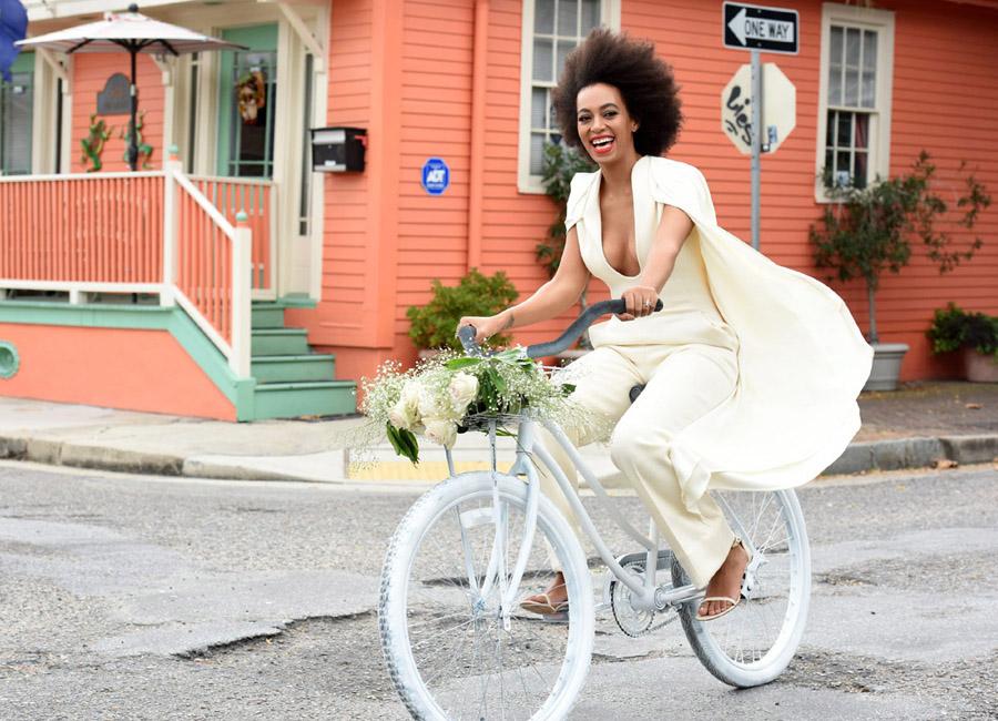 """La boda """"hipster"""" y cool de Solange Knowles"""