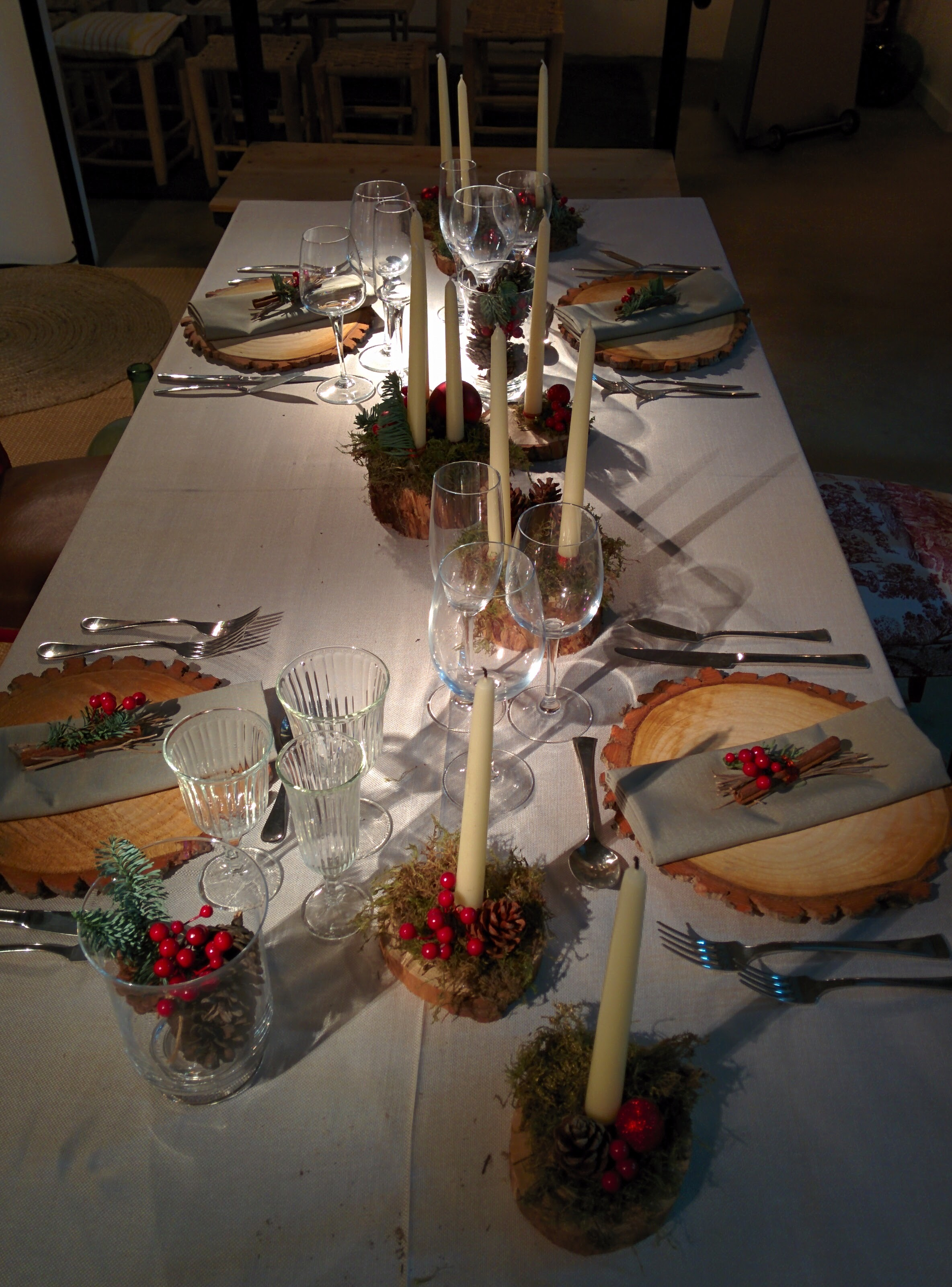 Como decorar tu mesa en navidad / How to decorate your Christmas table