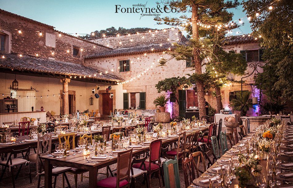 Organiza a tus invitados en las mesas de tu boda / Organize your guests on your wedding tables