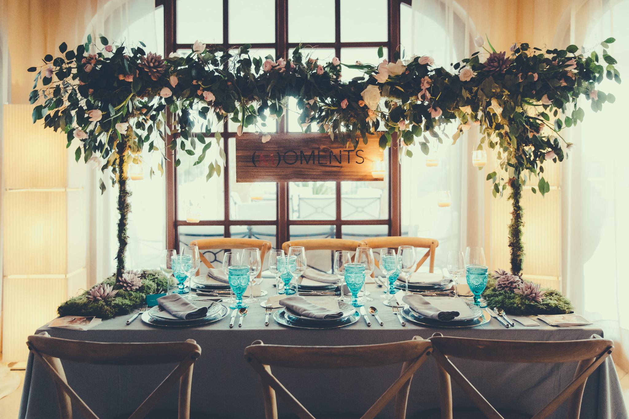 Decoración floral Aérea para bodas / Air decoration for weddings