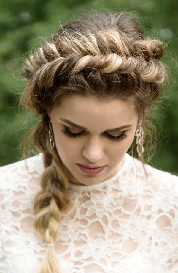 Novias 2018 ¿Cómo me peino? / Brides 2018: How do I style my hair?