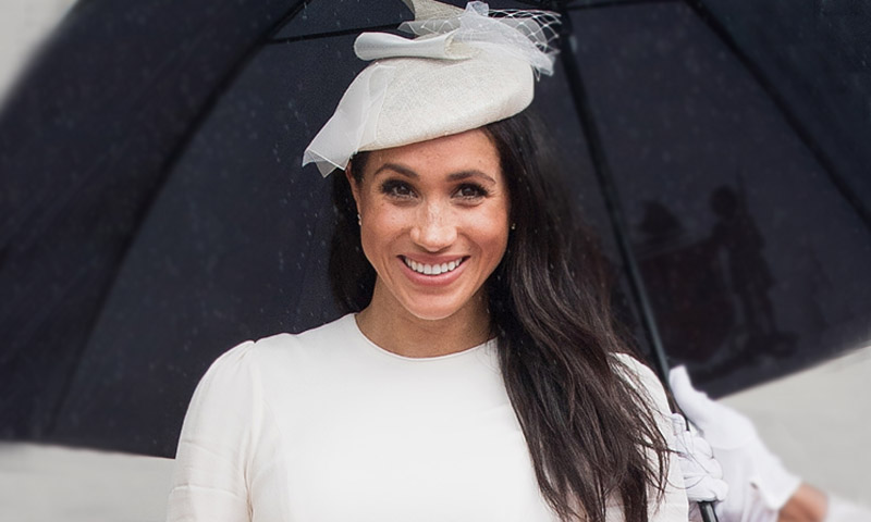 Megan Markle: de novia o invitada pre mamá ¡perfecta! / Bride or the perfect guest mum to be!