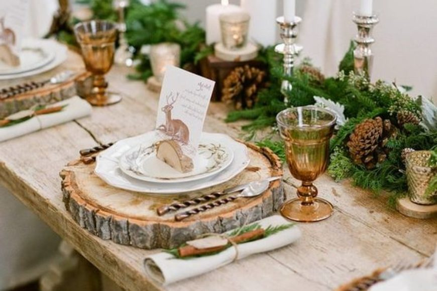 Mesas de Navidad y Fin de Año: del Rococó al Ecléptico / Christmas and New Year's Eve tables:from the Rococo to the Eclectic