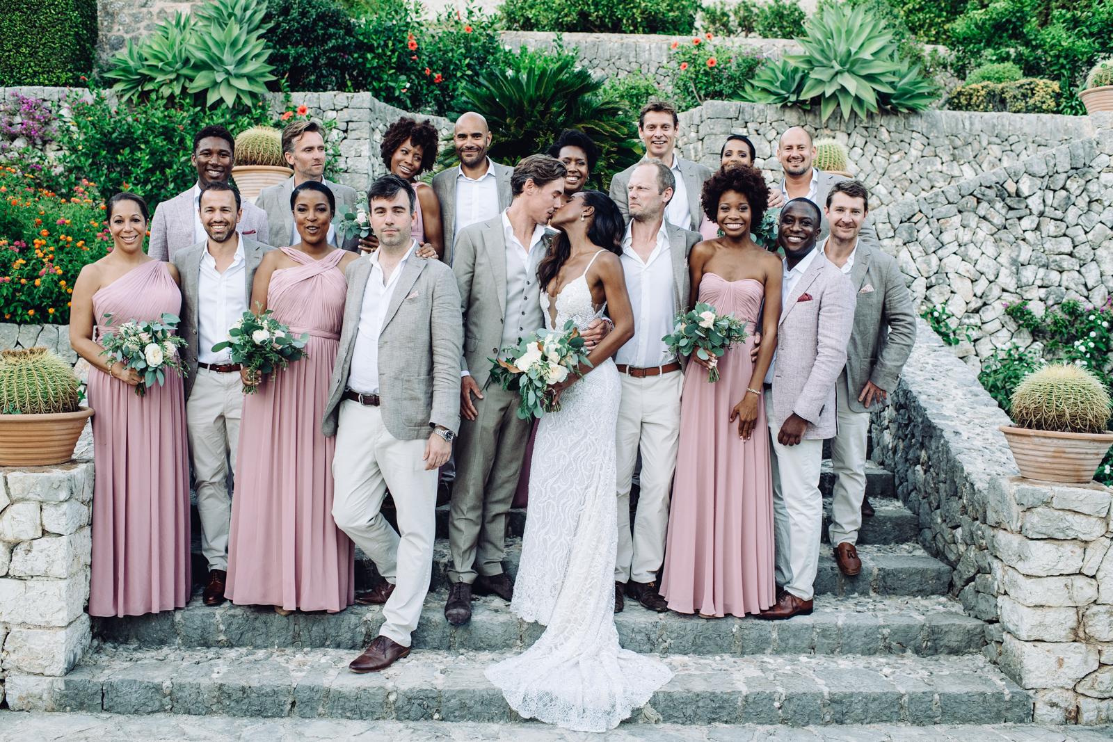 Avion y Pete, la boda que unió Trinidad, Inglaterra y Mallorca / Avion and Pete, the wedding thatbring togetherTrinidad, England and