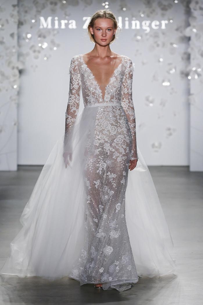 44579f4f8 Bridal Fashion Week de Nueva York, la moda nupcial que viene / New ...