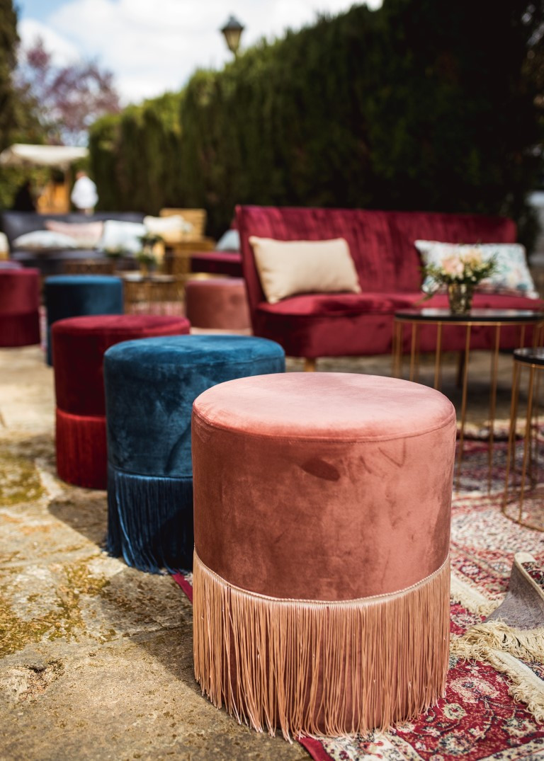 El terciopelo: la deco tendencia ¡que vas a querer en tu boda o evento! / Velvet: the new trend that you'll be  wanting at your wedding or event!