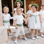 Una boda con niños seguro que será siempre divertida y tierna/A wedding with children will be always fun and tenderness.